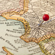 Los Angeles vintage map — Stock Photo #4145091