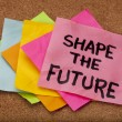 Shape the future — 图库照片