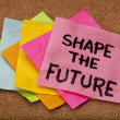 Shape the future — Stock Photo