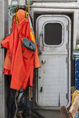 Foul weather cloths — Stock Photo