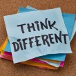 Think different concept - Foto de Stock