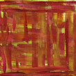 Red and yellow watercolor abstract with canvas texture — Stock Photo