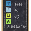 Stock Photo: There is no alternative