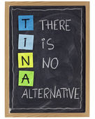 There is no alternative — Stock Photo