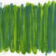 Green and blue abstract painted on canvas — Stock Photo #4746561