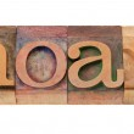 Hoax - word in letterpress type — Stock Photo