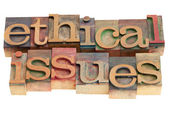 Ethical issues — Stock Photo