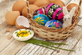 Spring or Easter egg concept — Stock Photo