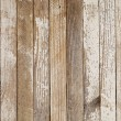 Old wood painted white — Stockfoto