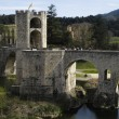 Stock Photo: Besalu, Catalonia