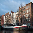 Stock Photo: Amsterdam House Boat