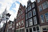 Fachadas de Amsterdam — Foto de Stock