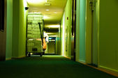 Hotel Laundry — Stockfoto