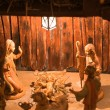 Nativity Christmas Scene — Stock Photo