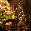 Stock Photo: christmas scenery