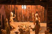 Nativity Christmas Scene — Stock Photo