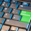 Go Green Computer Key - Stockfoto