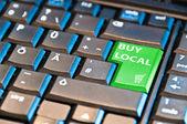 Ecommerce - Buy Local — Stock Photo