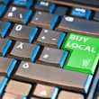 Stock Photo: Online Shopping - Buy Local