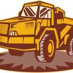 Mining dump truck — Stock Photo