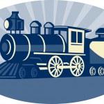 Steam train or locomotive — Stock Photo #4223357