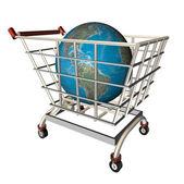 Nákupní svět — Stock fotografie
