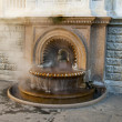 La Bollente fountain — Stock Photo