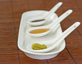 Japanese spices — Stock Photo