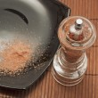 Red salt — Stock Photo
