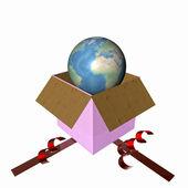 World gift — Stock Photo