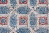 Pared de ladrillo color — Foto de Stock