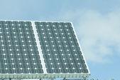 Солнечная батарея — Стоковое фото