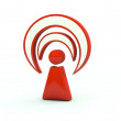Stock Photo: Wi Fi icon