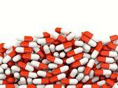 Lot of pills — Stock Photo