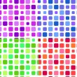 Royalty-Free Stock Vector Image: Seamless pattern composed of square blocks in different colors