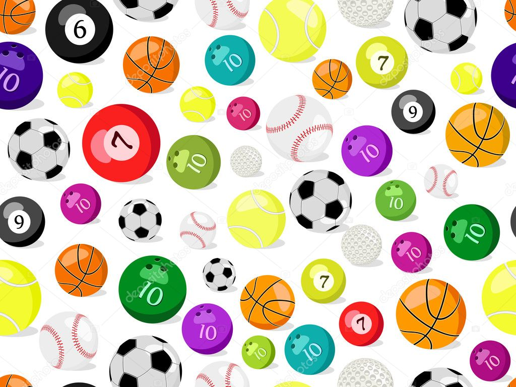 Pattern For Sport Wallpaper: Stock Vector © Nikifiva