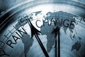 Changing world — Stock Photo