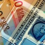 Dollar and Euros — Stock Photo #4197340