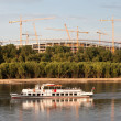 Vistula River Landscape - Stock Photo