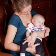 Mother Holding Her Baby — Stock Photo #4122511