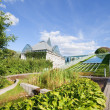 Warsaw University Library Garden - Foto de Stock  