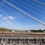 Modern Bridge Abstract Architecture — Stock Photo #4122818