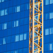 Office Building and Crane — Stock Photo