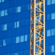 Stock Photo: Office Building and Crane