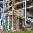 Stadium Construction Site — Stock Photo