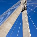 Modern Bridge Abstract Architecture — Stock Photo #4123004