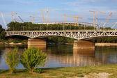 Vistula River in Warsaw — Стоковое фото