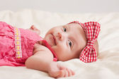 Cheerful Baby Girl Toddler — Stock Photo
