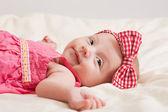 Cheerful Baby Girl Toddler — Stock Photo