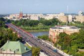 Paisagem urbana de varsóvia — Fotografia Stock